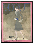 Vogue Cover - September 1928 Regular Giclee Print by Georges Lepape