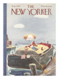 The New Yorker Cover - August 7, 1948 Premium Giclee Print by Garrett Price