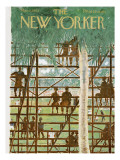 The New Yorker Cover - March 9, 1963 Premium Giclee Print by Garrett Price