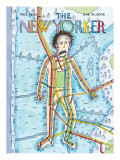 The New Yorker Cover - June 30, 2008 Regular Giclee Print by Roz Chast