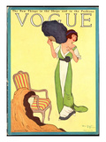 Vogue Cover - October 1911 Regular Giclee Print by Helen Dryden