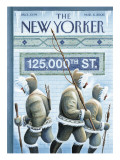 The New Yorker Cover - March 6, 2006 Premium Giclee Print by Eric Drooker