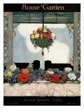 House & Garden Cover - August 1920 Regular Giclee Print by Ethel Franklin Betts Baines