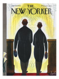 The New Yorker Cover - April 8, 1950 Premium Giclee Print by Constantin Alajalov