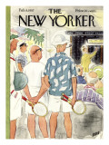 The New Yorker Cover - February 9, 1957 Regular Giclee Print by Leonard Dove