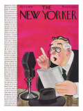 The New Yorker Cover - October 3, 1936 Regular Giclee Print by Robert J. Day