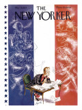 The New Yorker Cover - March 13, 1937 Premium Giclee Print by Constantin Alajalov