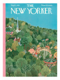 The New Yorker Cover - September 1, 1951 Premium Giclee Print by Ilonka Karasz