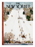 The New Yorker Cover - February 3, 1951 Premium Giclee Print by Ilonka Karasz