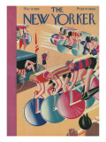 The New Yorker Cover - March 9, 1929 Premium Giclee Print by Theodore G. Haupt