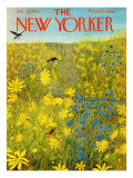 The New Yorker Cover - July 18, 1964 Premium Giclee Print by Ilonka Karasz