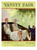Vanity Fair Cover - July 1929 Premium Giclee Print by Jean Pagès