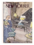 The New Yorker Cover - November 12, 1955 Regular Giclee Print by Perry Barlow