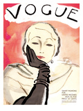 "Vogue Cover - November 1930 Premium Giclee Print by Carl ""Eric"" Erickson"