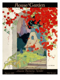 House & Garden Cover - September 1922 Regular Giclee Print by H. George Brandt
