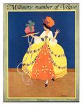 Vogue Cover - September 1915 Premium Giclee Print by Helen Dryden