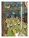 The New Yorker Cover - August 21, 1943 Premium Giclee Print by Ludwig Bemelmans
