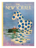 The New Yorker Cover - August 10, 1968 Regular Giclee Print by Mischa Richter