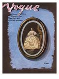 Vogue Cover - October 1938 Regular Giclee Print by Eduardo Garcia Benito