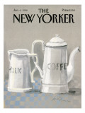 The New Yorker Cover - January 6, 1986 Premium Giclee Print by Andre Francois