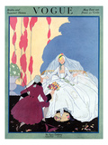Vogue Cover - May 1916 Premium Giclee Print by Helen Dryden