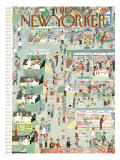 The New Yorker Cover - May 18, 1957 Regular Giclee Print by Charles E. Martin