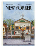 The New Yorker Cover - June 24, 1985 Premium Giclee Print by Albert Hubbell