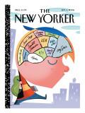 The New Yorker Cover - September 4, 2006 Regular Giclee Print by Bob Staake