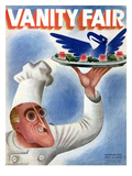 Vanity Fair Cover - November 1934 Premium Giclee Print by Miguel Covarrubias