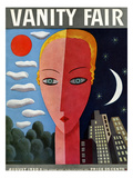 Vanity Fair Cover - August 1930 Premium Giclee Print by Miguel Covarrubias