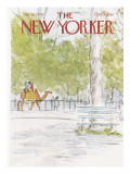 The New Yorker Cover - August 13, 1979 Regular Giclee Print by James Stevenson