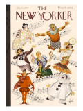The New Yorker Cover - January 13, 1934 Premium Giclee Print by Constantin Alajalov