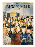 The New Yorker Cover - March 8, 1947 Premium Giclee Print by Constantin Alajalov