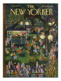 The New Yorker Cover - August 4, 1956 Premium Giclee Print by Ilonka Karasz