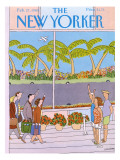 The New Yorker Cover - February 27, 1989 Premium Giclee Print by Devera Ehrenberg