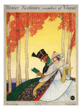 Vogue Cover - November 1915 Premium Giclee Print by George Wolfe Plank