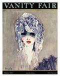 Vanity Fair Cover - February 1923 Regular Giclee Print by Eduardo Garcia Benito