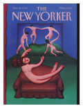 The New Yorker Cover - October 26, 1992 Regular Giclee Print by Andrea Arroyo