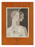 Vogue Cover - April 1926 Regular Giclee Print by Eduardo Garcia Benito