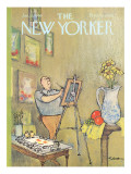 The New Yorker Cover - January 15, 1966 Regular Giclee Print by Charles Saxon