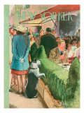 The New Yorker Cover - August 17, 1946 Premium Giclee Print by Garrett Price