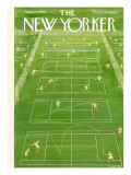 The New Yorker Cover - June 25, 1960 Premium Giclee Print by Anatol Kovarsky
