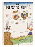 The New Yorker Cover - December 5, 1964 Regular Giclee Print by Saul Steinberg