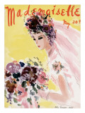 Mademoiselle Cover - May 1936 Regular Giclee Print by Helen Jameson Hall