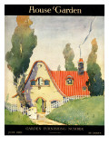 House & Garden Cover - June 1919 Regular Giclee Print by Maurice Day