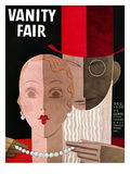 Vanity Fair Cover - December 1930 Regular Giclee Print by Eduardo Garcia Benito