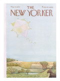 The New Yorker Cover - May 13, 1972 Regular Giclee Print by Ilonka Karasz