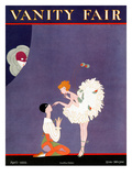 Vanity Fair Cover - April 1922 Premium Giclee Print by A. H. Fish