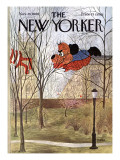 The New Yorker Cover - November 26, 1966 Premium Giclee Print by Charles E. Martin