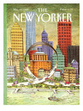 The New Yorker Cover - May 29, 1989 Premium Giclee Print by John O'brien